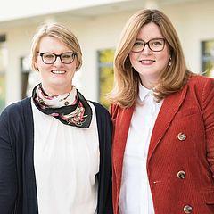 Katja Sierp und Katrin Krusch beraten Sie zum Tagungsangebot in und um Osnabrück